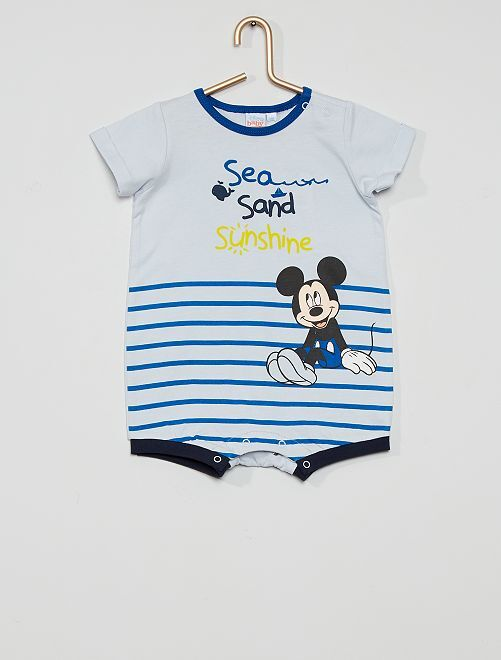 Barboteuse 'Mickey Mouse'                     bleu