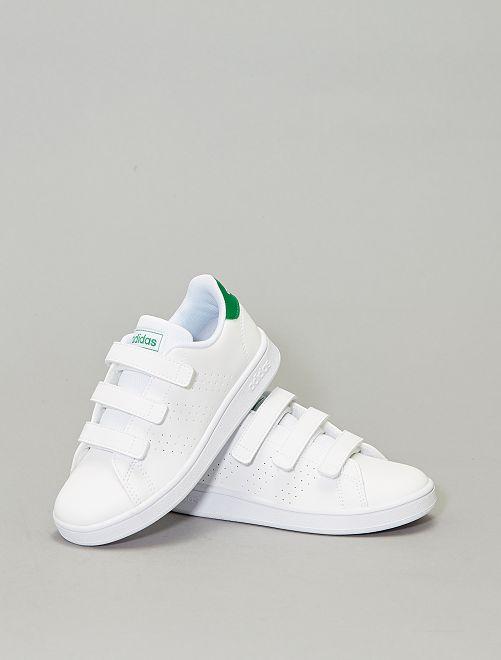 Baskets à scratch 'adidas Advantage C'                             blanc Garçon