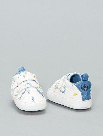 0b99d01310883 Chaussures chaussons bébé garçon pas chers et baskets - mode bébé ...