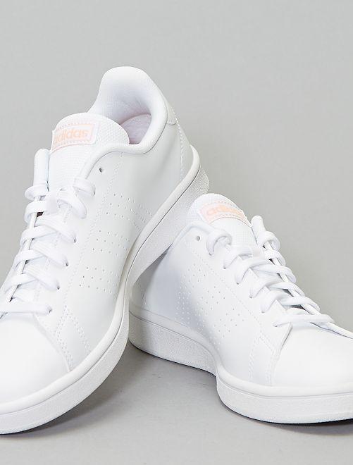 basket adidas blanche femme advantage