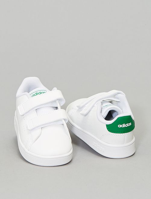 Baskets 'adidas Advantage'                                         blanc/vert