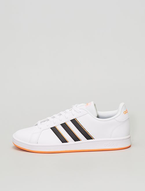 Baskets 'adidas' 'grand court base'                             blanc