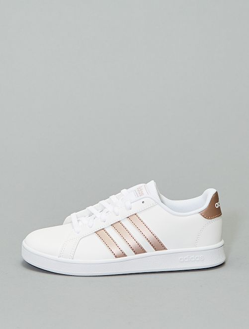 Baskets 'adidas Grand Court K'                             blanc