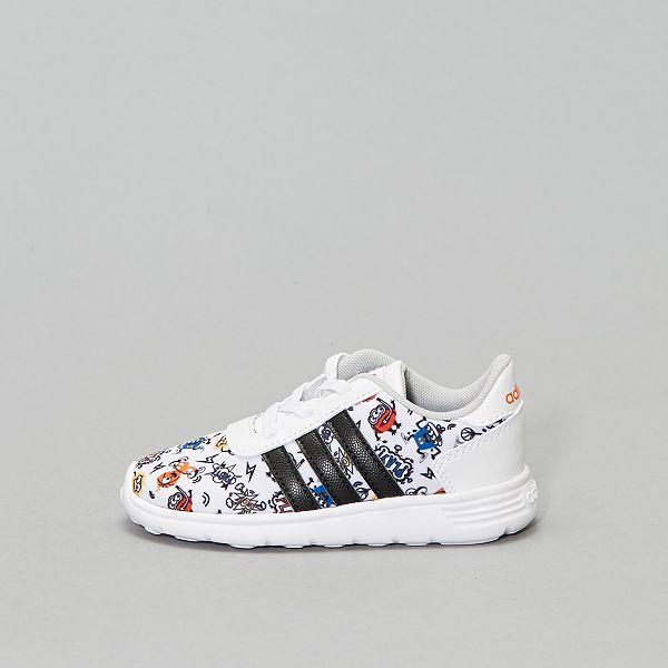 Baskets 'Adidas Lite Racer Inf' Chaussures blanc Kiabi