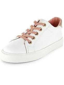 Chaussures fille - Baskets basses à lacets