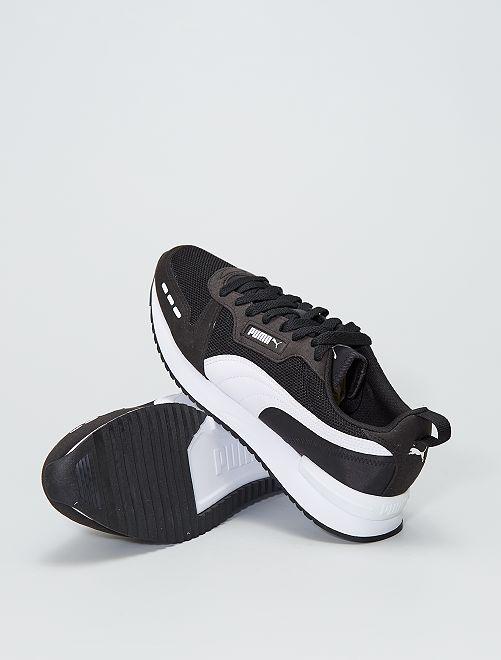 Baskets basses 'Puma R78'                             noir