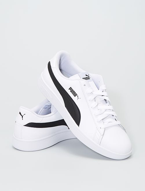Baskets basses 'Puma' 'Smash'                             blanc