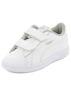 Baskets basses simili 'Puma'