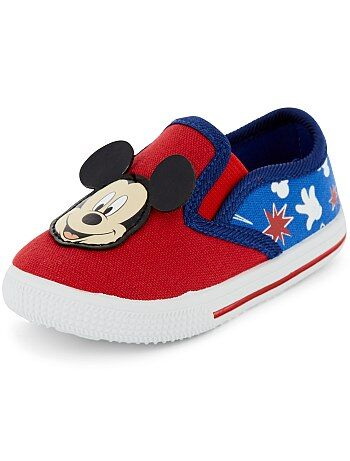 Baskets en textile 'Mickey Mouse' de 'Disney' - Kiabi