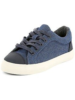 Chaussures, chaussons - Baskets en toile