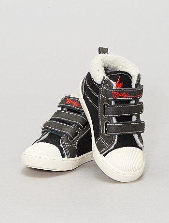 Chaussures - baskets hautes fourrées - Kiabi