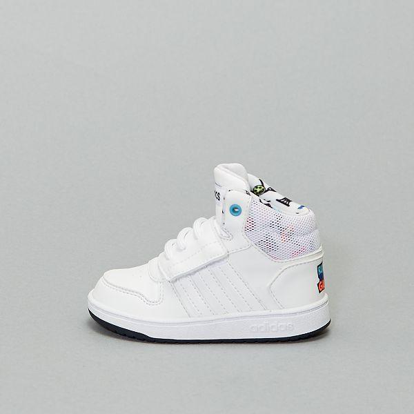 basket adidas blanche scratch