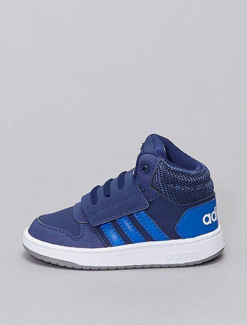 Baskets montantes 'adidas Hoops Mid'                             bleu marine