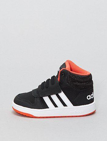Baskets montantes en simili 'Adidas HOOPS MID 2 0' - Kiabi