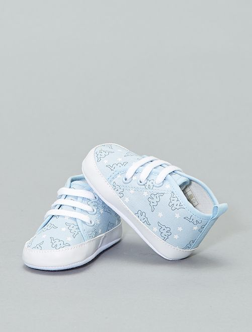 Baskets montantes en toile 'Kappa'                                                                 bleu ciel Bébé fille