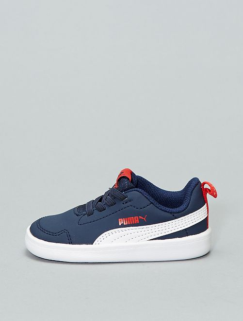 Baskets 'Puma' 'Courtflex'                             bleu navy Chaussures
