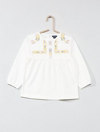 Blouse à broderies - Kiabi