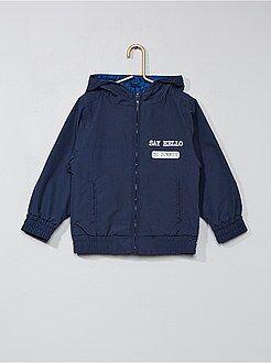 Manteau, veste - Blouson imperméable réversible - Kiabi