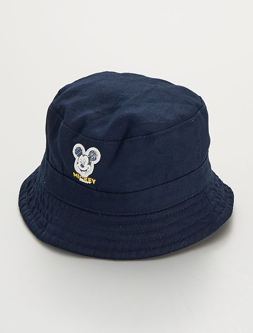 Bob en twill 'Mickey' 'Disney'                             bleu