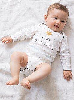 Fille 0-36 mois Body manches longues imprimé
