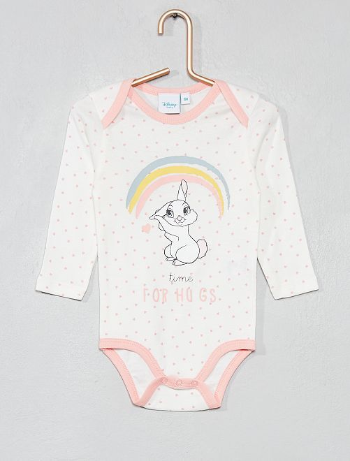 Body 'Miss Bunny' de 'Disney'                                         blanc/rose Bébé fille