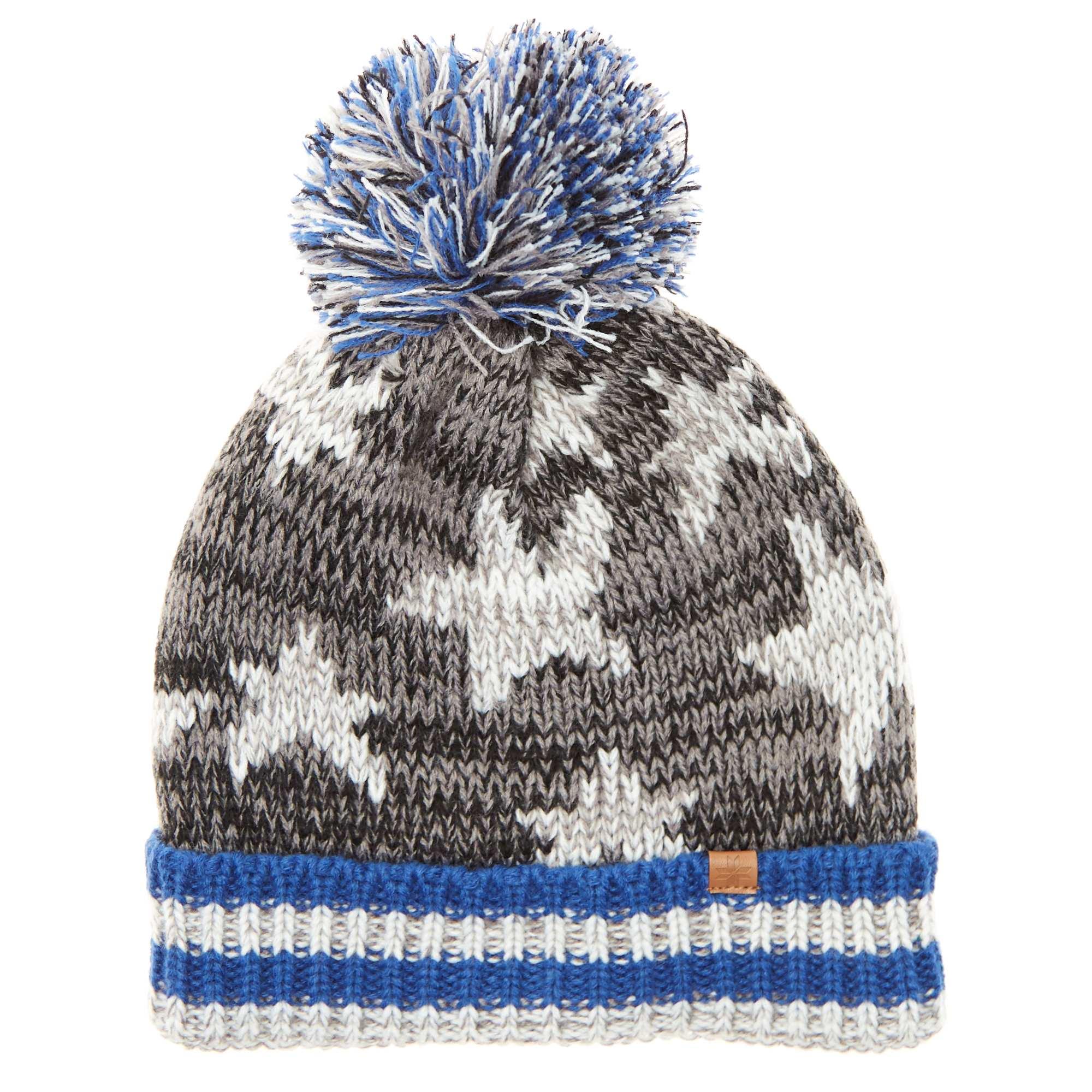 Bonnet à pompon Garçon - noir bleu - Kiabi - 6,00€ 44fd3a56c43