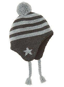 Accessoire - Bonnet style péruvien en tricot