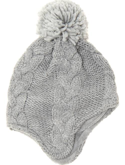 Bonnet style péruvien                             gris Garçon