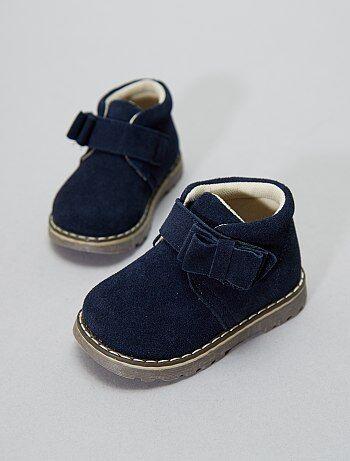 Boots en cuir - Kiabi