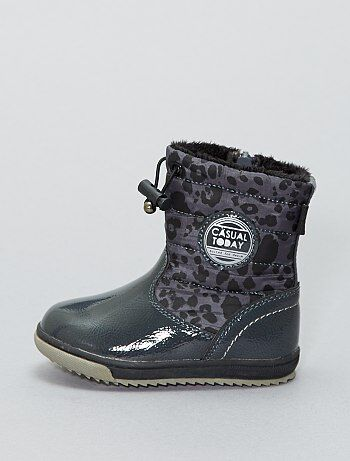 Boots façon après-ski imperméable - Kiabi