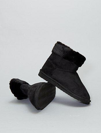Chaussures - Boots fourrées - Kiabi
