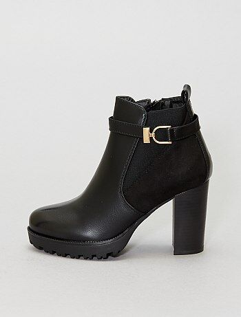 Boots hauts talons - Kiabi