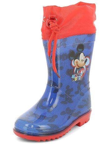 5034f81604887 Garçon 3-12 ans - Bottes de pluie  Mickey Mouse  de  Disney
