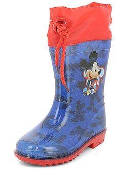 Bottes de pluie 'Mickey Mouse' de 'Disney' - Kiabi