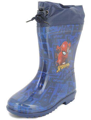 Bottes de pluie 'Spider-Man' - Kiabi