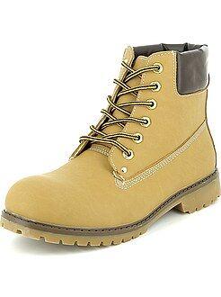 Homme du S au XXL Bottines type chaussures de montagne