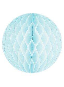 Décoration - Boule de papier alvéolée 20cm