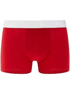Sous-vêtements - Boxer bicolore en coton stretch