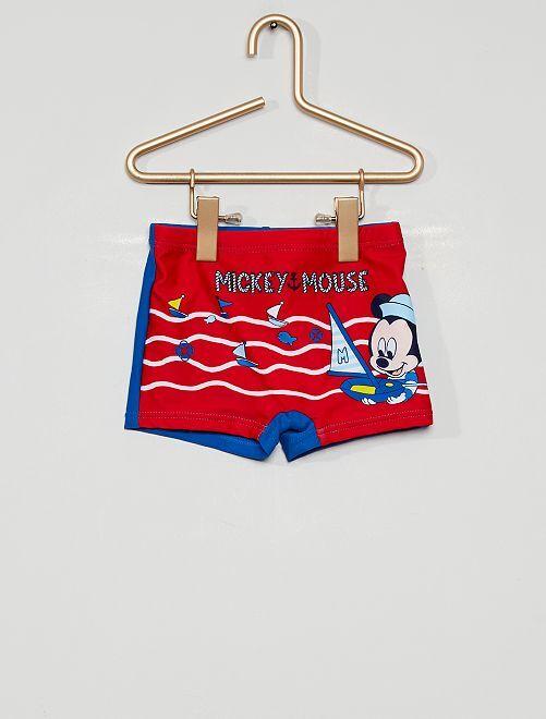 Boxer de bain 'Mickey Mouse' de 'Disney'                             rouge