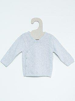 Sous-vêtement - Brassière fine maille pur coton - Kiabi