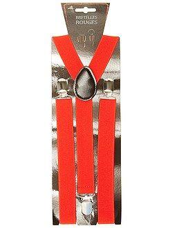 Accessoires Bretelles unies