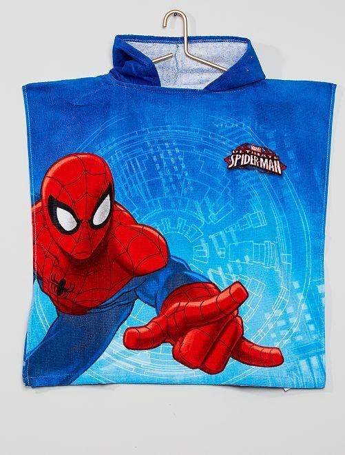 Cape de bain 'Spider-Man'                             bleu