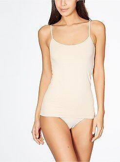 Body, caraco - Caraco fines bretelles sans couture 'Le Bourget'