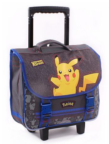 Cartable trolley 'Pikachu' de 'Pokemon' - Kiabi