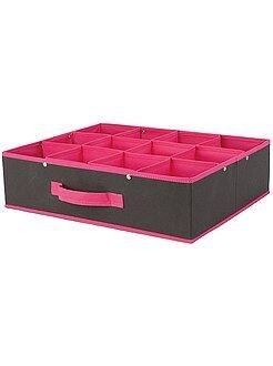 Rangement - Casier pliable 12 compartiments