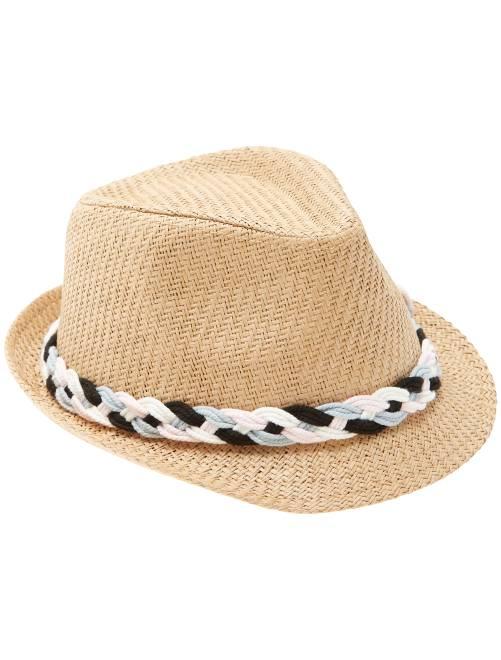 chapeau avec bande tress e b b fille beige kiabi 6 30. Black Bedroom Furniture Sets. Home Design Ideas