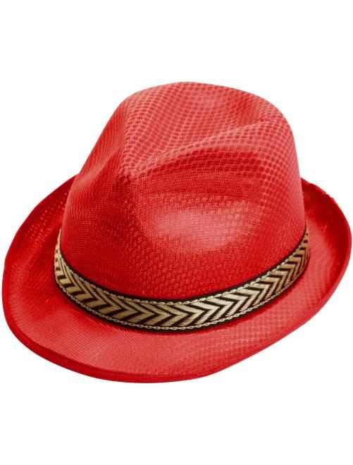 Chapeau borsalino                                                      rouge