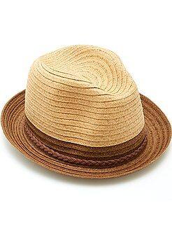 Accessoire - Chapeau borsalino tricolore