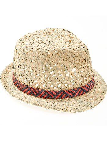 Chapeau forme borsalino - Kiabi