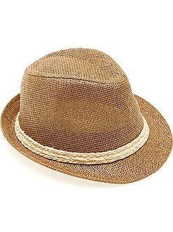 Accessoire - Chapeau panama bord court